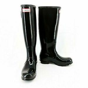 Hunter Boots Tall Black